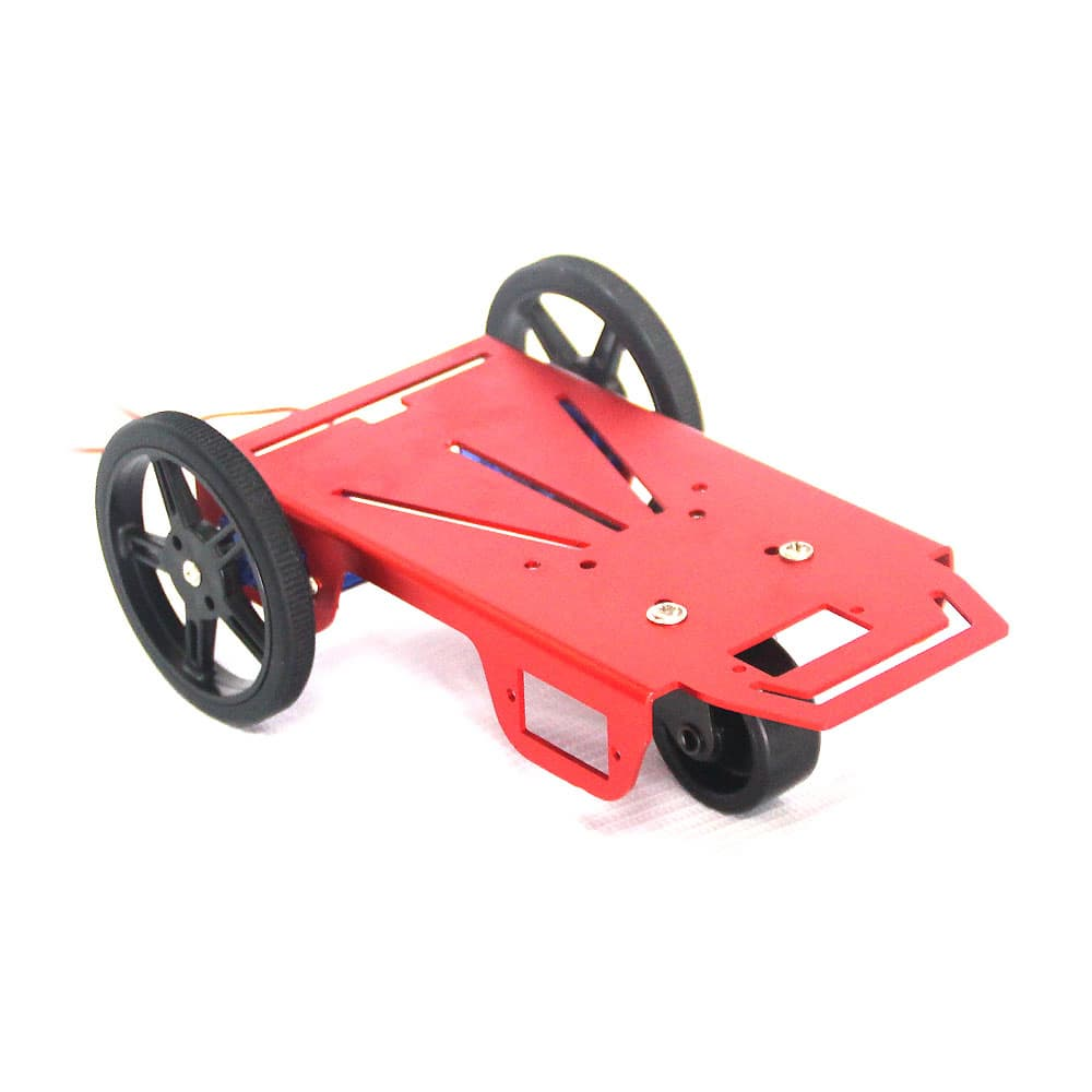 2WD Two Wheel Drive Full Robotics Kit with Continuous Servo Motors
