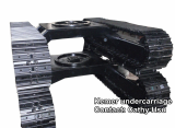 complete steel track undercarriage for drill