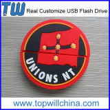 PVC Design Cartoon Customize 2GB Flash Drive Pen Drive