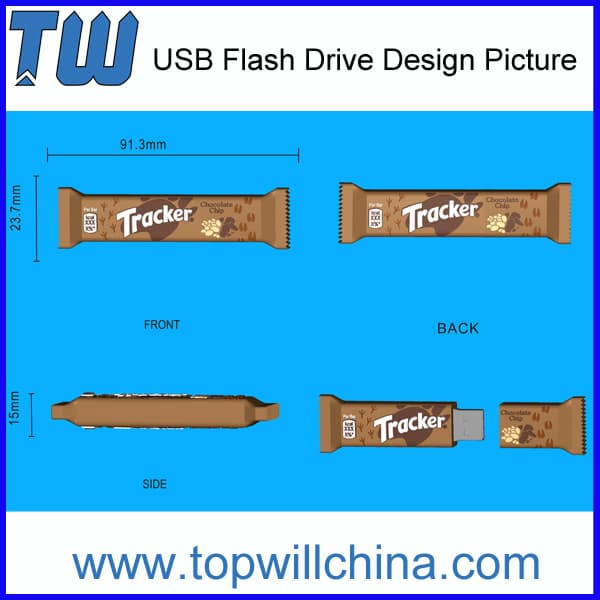 Unique PVC Usb Flash Drive 64GB for Your Own Product