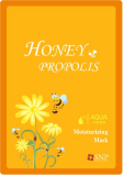 SNP HONEY_PROPOLIS MOISTURIZING MASK