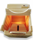 Dae Han Infrared -Half sauna ( Infrared heater+ thermotherapeutic seat)