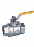 Cast steel flanged_threaded floating ball valve