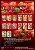 Fruit Juice with Sac 240ml (7Flavors)