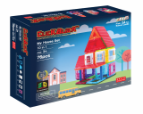 Click Block_ Magnet educational toy 2D Myhouse Set 76pcs