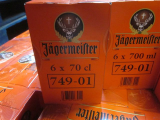 Liqueurs, Jagermeister, Bailey's, Bols, DOM, Cointreau, Drambuie, etc