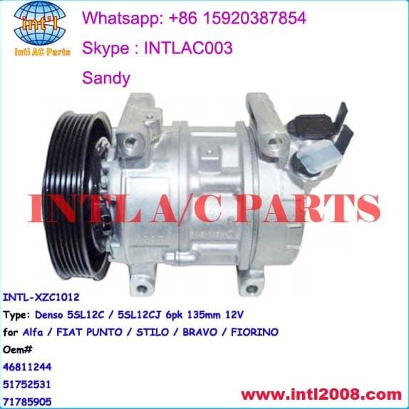 Denso 5SL12C Auto AC compressor for Alfa / Fiat | tradekorea