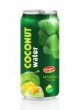 Coconut Water With Mango Flavour Aluminium Can