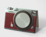 CAMERA red [Sticky memo pad + Photo frame]