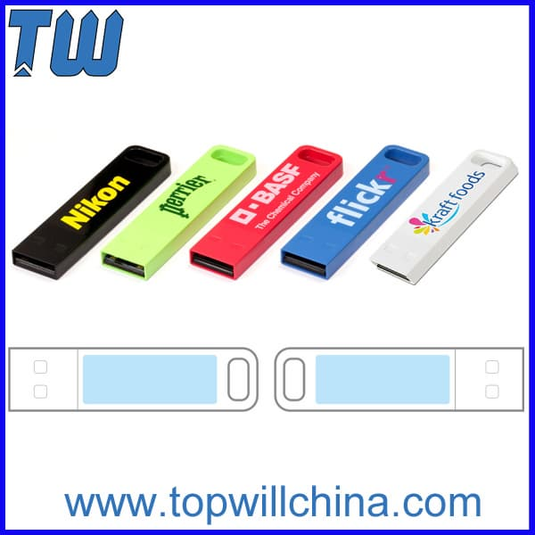 Stick Metal Long Printing Area Usb Flash Drive 16GB
