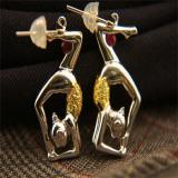 Cubic Ball Rhythmic Gymnastics(pendant, earring)