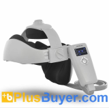 Digital Head and Neck Massager with Speakers (Acupressure Vibration + Heat Therapy)