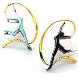 Ribbon Rhythmic Gymnastic Earring