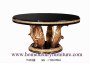 Dining table set round dining table
