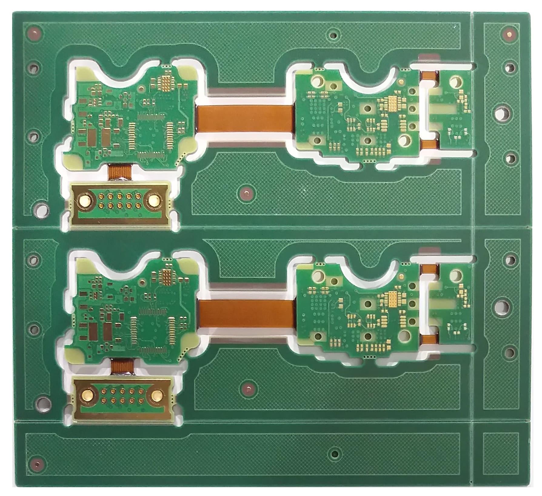Electrical Equipment Components Telecomspassive Componentspcb Rigidflex Circuit Boards Osp Lead Free Pcb Printed Board Rigid Flex Rf For Car Electronic System
