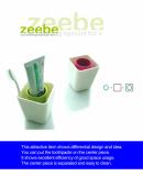 Simple life toothbrush holder