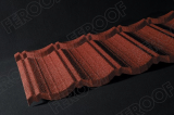 Stone Chip Coated Steel Roof Tiles_