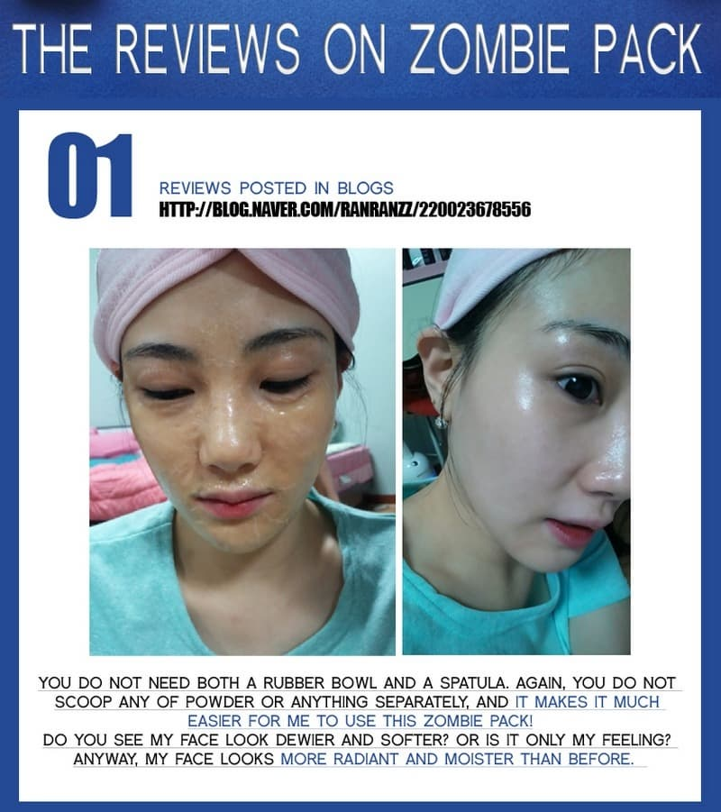 _Skin1004_ Zombie Pack _set of 8 facial treatments_