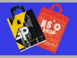 Plastic promotion bag