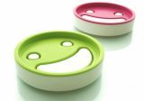 Everyday smile soap dish