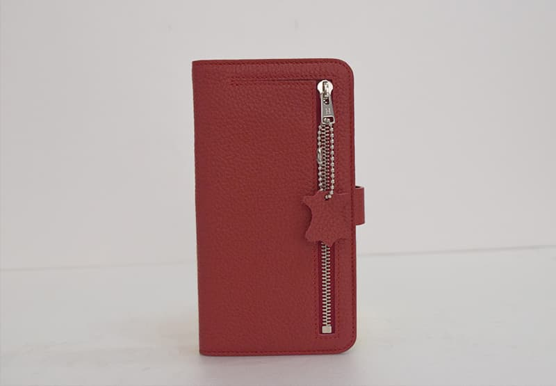Zipper Wallet Phone Case _Togo leather_