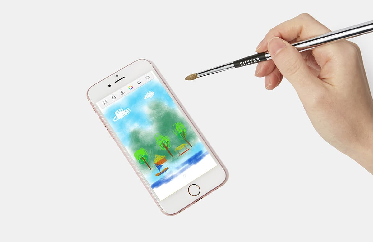 SILSTAR DIGITAL PAINTING BRUSH BUTOUCH PROFESSIONAL