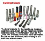 Sandblast nozzle,boride nozzle,tungsten carbide nozzle