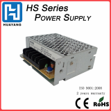 35W single output 24v 1_5a enclosed power supply with 2 year