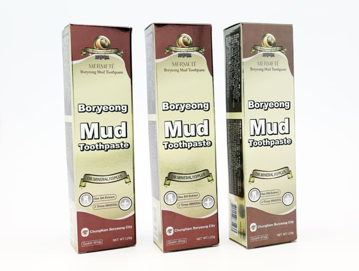 Boryeong Mud Cosmetics