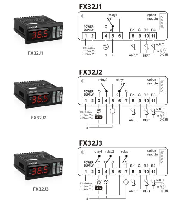 fx32j1 2 3  showcase  u0026 cold room controller
