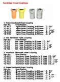 Sandblast hose coupling,nylon hose coupling,cast iron hose coupling,aluminum hose coupling