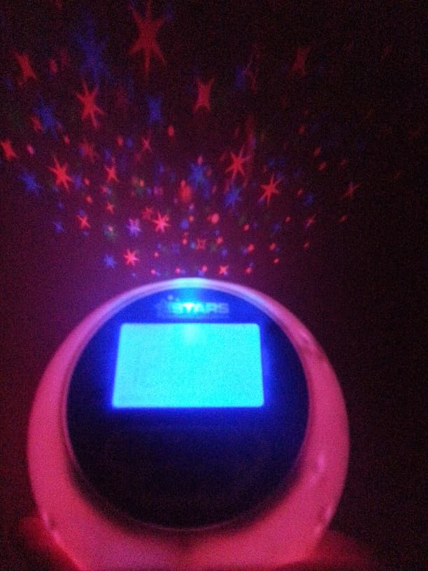 Star Projector With Lullabies and alarm clock