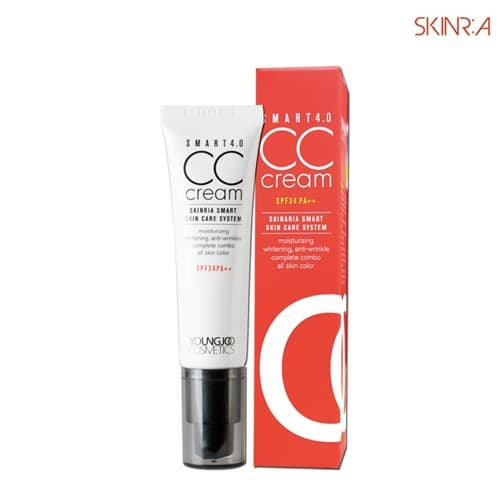 SKINRIA 4_0 CC cream Whitening Anti_Wrinkle SPF34 PA__