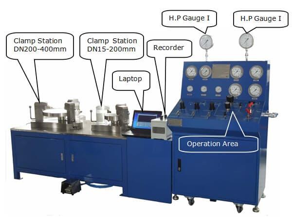 valve test machine