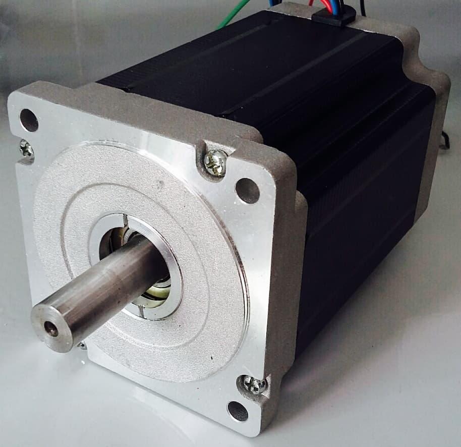 Nema 34 86 mm 5 phase stepper motor from e j engineering for 5 phase stepper motor