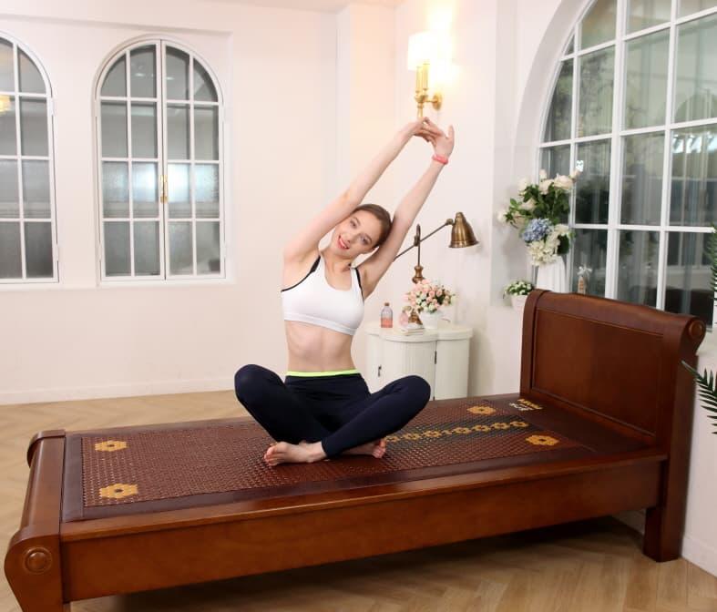 HK VARONA Thermal Ceramic Massage Bed Tourmaline Heating Mat