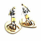 Golf queen earring
