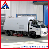 yihong road sweeper yhcx5070 road cleaning trucks Yihong road sweeper  yihong road sweeper yhd21 road sweeper yhd21 is equipped with air condition and heating machine, the operator can enjoy the comfortable work environment in summer and winter - yihong road sweeper introduction road sweeper yhd21: noise-insulated, low-vibration cab with suspension.