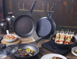 Titanium coating frying pan_ wok_ cookware set