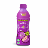 350ml Bottled Blackcurrant Juice with nata de coco