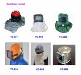 Sandblast helmet,sandblasting hood,cavas helmet,safety helmet,protection helmet