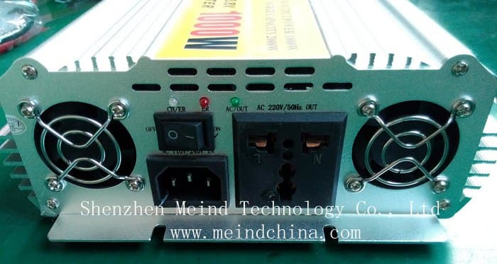 1000w Power Inverter With Charger Ac Converte From