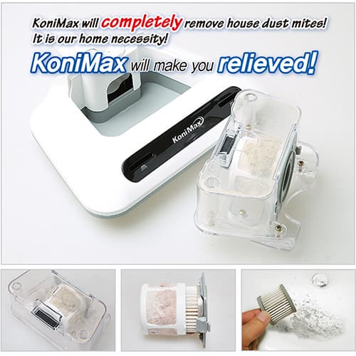 KoniMax_ dust mite cleaner for bedding