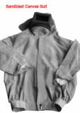 Sandblasting suit,sandblast clothing,safety clothing,protection clothing,canvas suit