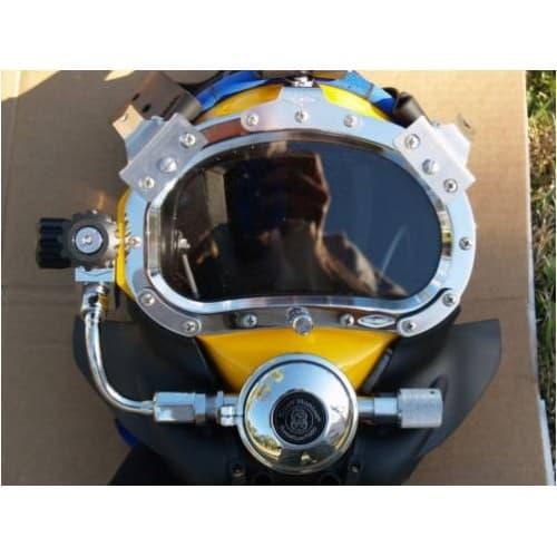 Kirby Morgan Kmb 18b Bandmask Diving Helmet Tradekorea