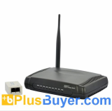 Galaxy N - Wireless-N ADSL2+ Modem and Router (150 Mbps, 4 Port)