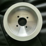 Vitrified diamond grinding wheels for PCD
