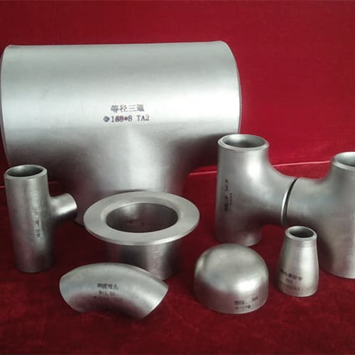Titanium alloy pipe fittings from western