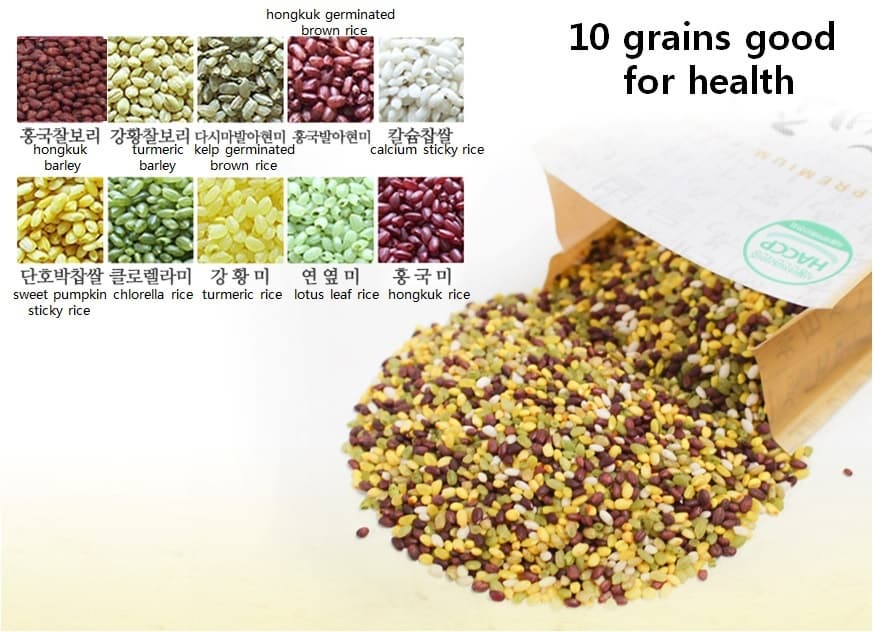 10 grains good for health