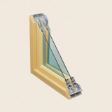 Composite window frames(Aluminum/Polystyrene)